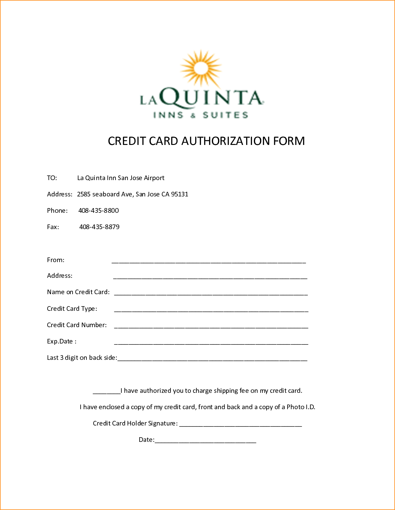 10 credit card authorization form template free download for Credit card authorisation form template australia