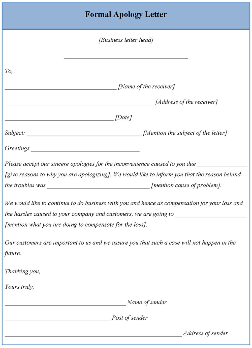 Apology letter format free download thecheapjerseys Image collections
