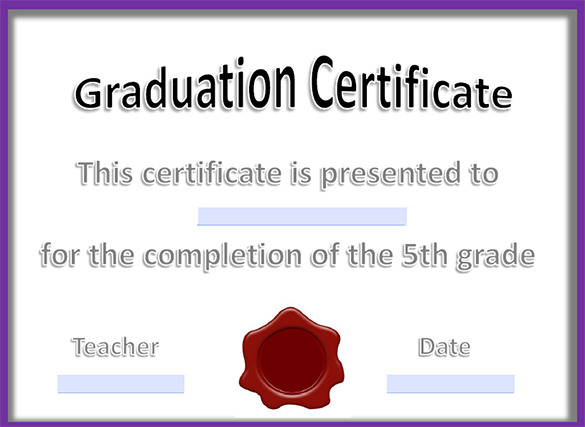 Graduation certificate templates free download yelopaper Choice Image