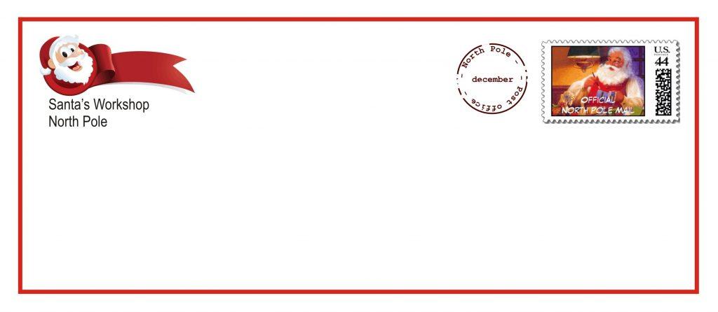 picture regarding Christmas Envelopes Free Printable known as Cost-free Printable Santa Envelopes - Absolutely free Obtain